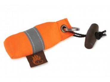 Mini-Dummy / Schlüsselanhänger / orange mit Reflexstreifen